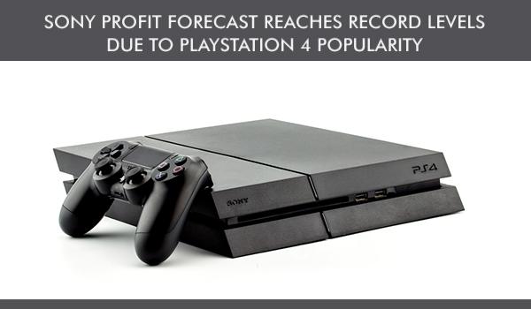 sony profit forecast
